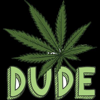 Dude Weed Leaf