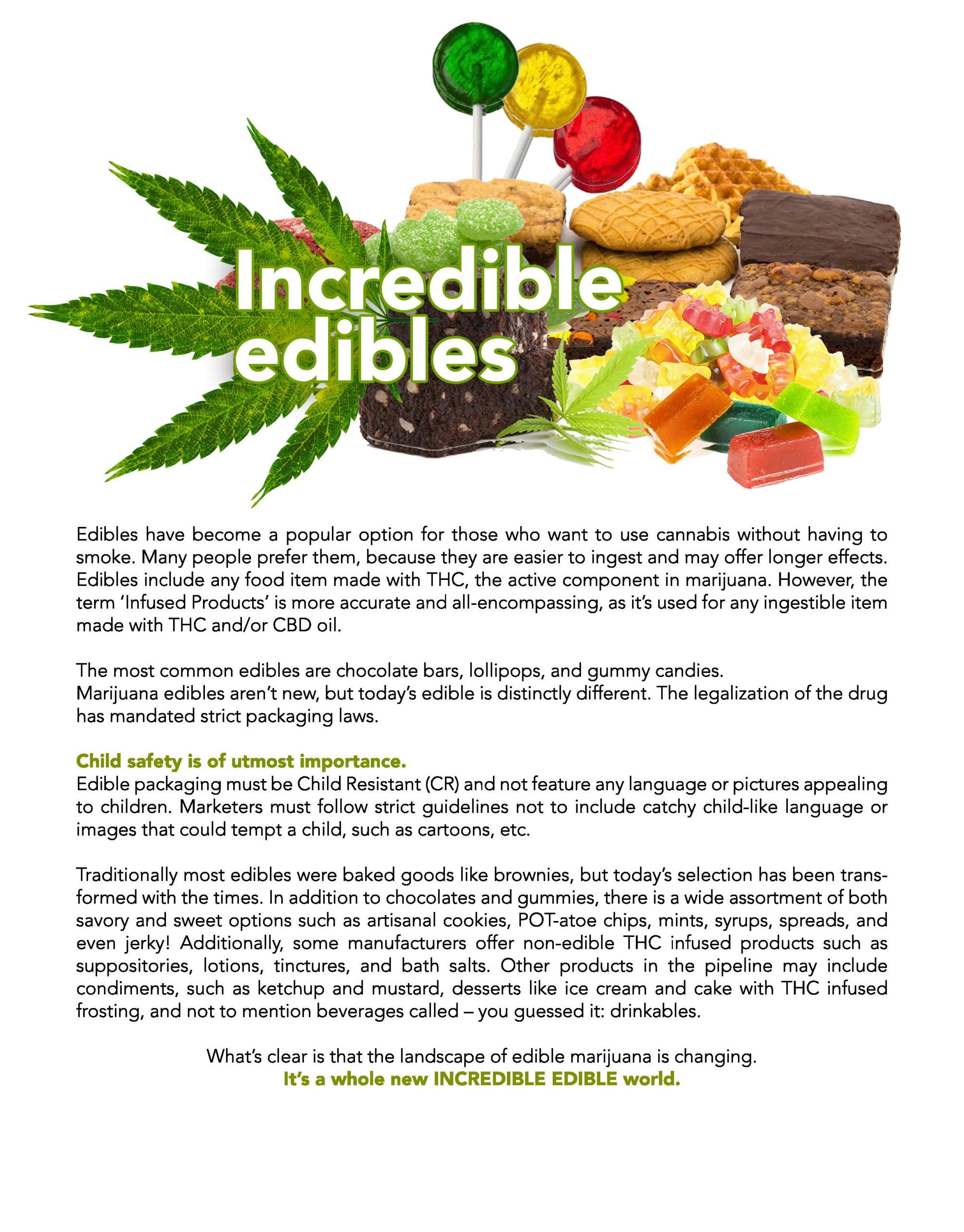 Incredible Edibles - Cannabis Edible Packaging